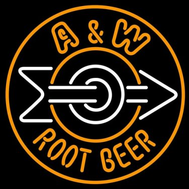 """Brand New A and W Root enjoy Beer Bar Pub Neon Light Sign 16""""x16""""[High Quality]"""