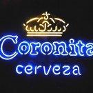 "Brand New Coronita Cerveza Crown Beer Club Bar Neon Sign 22""x 18"" [High Quality]"