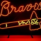 "Brand New MLB Atlanta Braves Baseball Beer Bar Neon Sign 17""x 14"" [High Quality]"