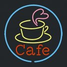 "Brand New Cafe Coffee Cup Beer Bar Neon Light Sign 16""x 16"" [High Quality]"