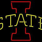 "Brand New NCAA Iowa State Cyclones ISU University Beer Neon Sign 16""x16"" [High Quality]"