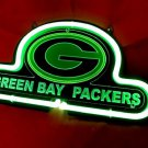 "Brand New NFL Green Bay Packers Football 3D Beer Bar Pub Neon Light Sign 10""x8"" [High Quality]"