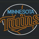 "Brand New MLB Minnesota Twins Beer Bar Neon Light Sign 20""x 20"" [High Quality]"