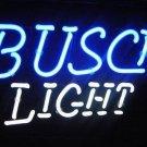 """Brand New Busch Light Beer Bar Neon Light Sign 16"""" x14"""" [High Quality]"""