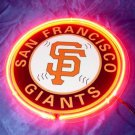 "Brand New MLB San Francisco SF Giants Baseball Beer Bar Neon Light Sign 10""x10"" [High Quality]"