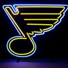"Brand New NHL St Louis Blues Football Beer Bar Neon Light Sign 16""x16"" [High Quality]"