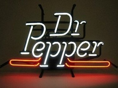 "Brand New Dr Pepper Soda Beer Bar Neon Light Sign 15""x12"" [High Quality]"