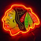 "Brand New NHL Chicago Blackhawks Football 3D Acryl Beer Neon Light Sign 10""x8"" [High Quality]"