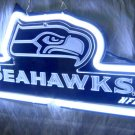 "Brand New NFL Seattle Seahawks Football 3D Neon Light Sign 11""x9"" [High Quality]"
