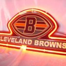 "Brand New NFL Cleveland Browns Football Beer Bar Pub Neon Light Sign 11""x9"" [High Quality]"