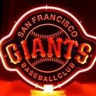 "MLB San Francisco Giants Baseball Club 3D Acrylic Beer Neon Light Sign 12""x10"" [High Quality]"