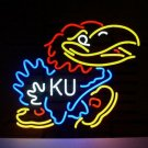 "Brand New NCAA Kansas Jayhawks Neon Pub Light Sign 16""x14"" [High Quality]"