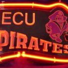 "Brand New NCAA East Carolina Ecu Pirates Football 3D Beer Bar Neon Light Sign 11""x8"" [High Quality]"