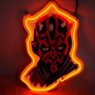 "Brand New Star Wars Darth Maul's 3D Real Neon Light Sign 13""x9"""