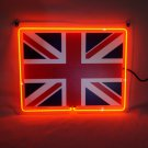 "Brand New UK Flag 3D Real Neon Light Sign 13""x8"" [High Quality]"