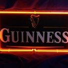 "Brand New Guinness Beer 3D Real Neon Light Sign 13""x7"""