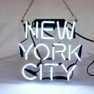 "NYC New York City USA Real Art Neon Light Sign 10""x10"" [High Quality]"
