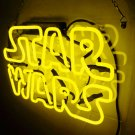 "Handmade 'Star Wars' Movie Art Light Banner Room Decor Neon Sign 12""x8"""