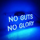 "New 'No Guts No Glory' LED Art Neon Sculpture Neon Light Sign 14""x6"""