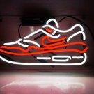 "Handmade Sneakers' LED Lamp Room Decor Banner Art Light Neon Sign 14""x7"""