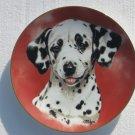 Dalmatian Plate 1992 Princeton Gallery Picken 8 1/4 inch Dog