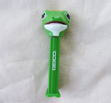 PEZ GEKKO Candy Dispenser Geico Lizard Promotional 2010 Footed