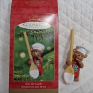 Ornament 2001 Kiss the Cook Bear Hallmark Keepsake