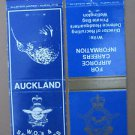 Lot of 2 Military New Zealand Royal Air Force Vintage 20 Strike Matchbook Cover