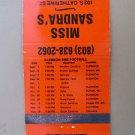 Clemson 1983 Football South Carolina 30 Strike Vintage SC Sports Matchbook Cover