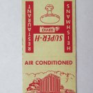 Heishman's Restaurant - New Kingstown, Pennsylvania 20 Strike Matchbook Cover PA