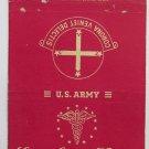 Lawson General Hospital Atlanta Georgia 40 Strike Military Matchbook Match Cover