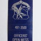 Rickenbacker Air Force Base Ohio SAC Vintage 20 Strike Military Matchbook Cover