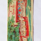 Casa Rio Mexican Foods San Antonio Texas TX Restaurant 20 Strike Matchbook Cover