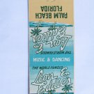 Leon & Eddie's Palm Beach Florida 20 Strike Restaurant Vintage Matchbook Cover