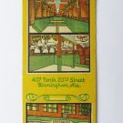Greenwood - Birmingham, Alabama Restaurant 20 Strike Matchbook Cover Matchcover