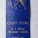 US Naval Pre-Flight School - Athens, Georgia 20 Strike Military Matchbook Cover