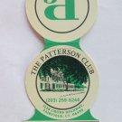 The Patterson Club - Fairfield, Connecticut Golf Sport Die-Cut Matchbook Cover
