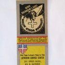 Lutheran Service Center - Louisville, Kentucky 20 Strike Matchbook Cover KY