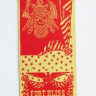 Fort Bliss Texas Officers Mess 20 Strike Military Matchbook Cover TX Matchcover