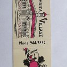 Jamaica Village Discotheque Chicago, Illinois 20 Strike Matchbook Cover Cocktail
