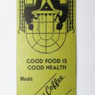 Rainbow Coffee Shop - Aimes, Iowa Restaurant 20 Strike Matchbook Match Cover IA