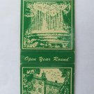 Clifty Inn - Madison, Indiana Restaurant 20 Strike Matchbook Cover Prices back