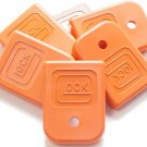 Glock Magazine Floor Plate Orange Sm  Part Number LWGLO-1294