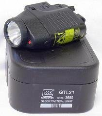 Glock Tactical Light With Laser LWGLO-3167