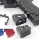 Arredondo Checkered Mag Ext Blue +6/9mm +5/40LWARR-GLC1923BLU