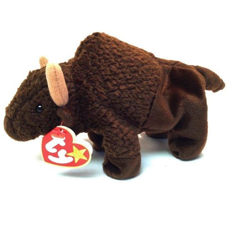 TY Beanie Baby Roam Buffalo