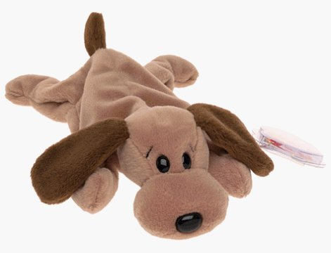 TY Beanie Baby Bones Dog