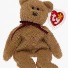 TY Beanie Baby Curly Bear
