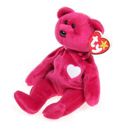 TY Beanie Baby Valentina Bear