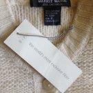 NWT MARIELE WAITHE Cashmere White Knit Cardigan